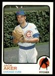 1973 Topps #262  Jack Aker  Front Thumbnail