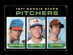 1971 Topps #664   -  Archie Reynolds / Bob Reynolds / Ken Reynolds Rookie Pitchers Front Thumbnail