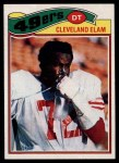 1977 Topps #247  Cleveland Elam  Front Thumbnail