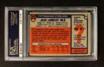 1976 Topps #220  Jack Lambert   Back Thumbnail