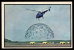 1954 Bowman Power for Peace #54   Helicopter Flies off with 50 Ft. Hangar Front Thumbnail