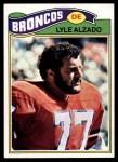1977 Topps #386  Lyle Alzado  Front Thumbnail
