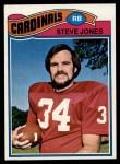 1977 Topps #184  Steve Jones  Front Thumbnail