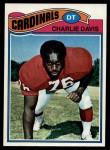 1977 Topps #303  Charlie Davis  Front Thumbnail