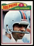 1977 Topps #255  Garo Yepremian  Front Thumbnail
