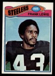 1977 Topps #319  Frank Lewis  Front Thumbnail