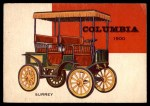 1954 Topps World on Wheels #40   Columbia Electric 1900 Front Thumbnail