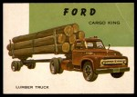 1954 Topps World on Wheels #132   Ford Cargo King Front Thumbnail