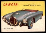 1954 Topps World on Wheels #10   Lancia Front Thumbnail