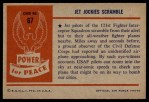 1954 Bowman Power for Peace #67   Jet Jockies Scramble Back Thumbnail