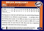 2003 Topps Traded #261 T  -  Brian Burgamy First Year Back Thumbnail