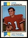 1973 Topps #281  Wes Chesson  Front Thumbnail