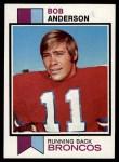 1973 Topps #413  Bob Anderson  Front Thumbnail
