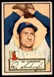 1952 Topps #43  Ray Scarborough  Front Thumbnail
