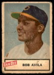 1954 Dan-Dee  Bobby Avila  Front Thumbnail