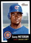 2002 Topps Heritage #64  Corey Patterson  Front Thumbnail