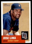 2002 Topps Heritage #171  Jose Lima  Front Thumbnail