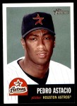 2002 Topps Heritage #124  Pedro Astacio  Front Thumbnail
