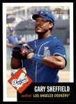 2002 Topps Heritage #197  Gary Sheffield  Front Thumbnail