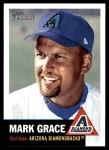 2002 Topps Heritage #136  Mark Grace  Front Thumbnail