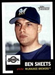 2002 Topps Heritage #99  Ben Sheets  Front Thumbnail