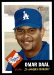 2002 Topps Heritage #87  Omar Daal  Front Thumbnail