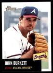 2002 Topps Heritage #98  John Burkett  Front Thumbnail