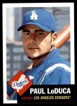 2002 Topps Heritage #27  Paul LoDuca  Front Thumbnail