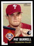 2002 Topps Heritage #179  Pat Burrell  Front Thumbnail