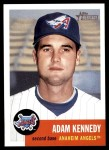 2002 Topps Heritage #96  Adam Kennedy  Front Thumbnail