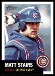 2002 Topps Heritage #116  Matt Stairs  Front Thumbnail