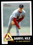2002 Topps Heritage #118  Darryl Kile  Front Thumbnail
