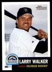 2002 Topps Heritage #19  Larry Walker  Front Thumbnail