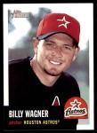2002 Topps Heritage #194  Billy Wagner  Front Thumbnail