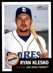 2002 Topps Heritage #83  Ryan Klesko  Front Thumbnail