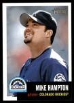 2002 Topps Heritage #223  Mike Hampton  Front Thumbnail