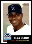 2002 Topps Heritage #230  Alex Ochoa  Front Thumbnail