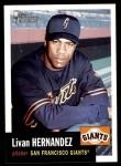 2002 Topps Heritage #281  Livan Hernandez  Front Thumbnail