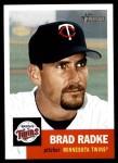 2002 Topps Heritage #333  Brad Radke  Front Thumbnail