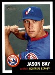 2002 Topps Heritage #355  Jason Bay  Front Thumbnail