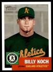 2002 Topps Heritage #362  Billy Koch  Front Thumbnail