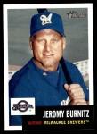 2002 Topps Heritage #312  Jeromy Burnitz  Front Thumbnail