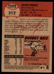 2002 Topps Heritage #312  Jeromy Burnitz  Back Thumbnail