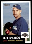 2002 Topps Heritage #278  Jeff D'Amico  Front Thumbnail