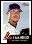 2002 Topps Heritage #255  Brian Anderson  Front Thumbnail