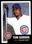 2002 Topps Heritage #265  Tom Gordon  Front Thumbnail