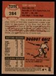 2002 Topps Heritage #284  Tony Batista  Back Thumbnail