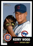 2002 Topps Heritage #248  Kerry Wood  Front Thumbnail