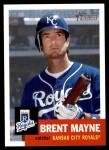 2002 Topps Heritage #334  Brent Mayne  Front Thumbnail