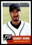 2002 Topps Heritage #240  Randy Winn  Front Thumbnail